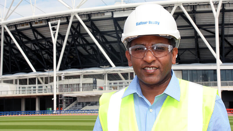 Engineer London stadium
