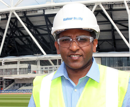 Olympic stadium roof engineer