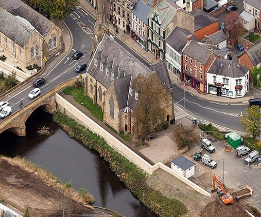 Morpeth flood alleviation