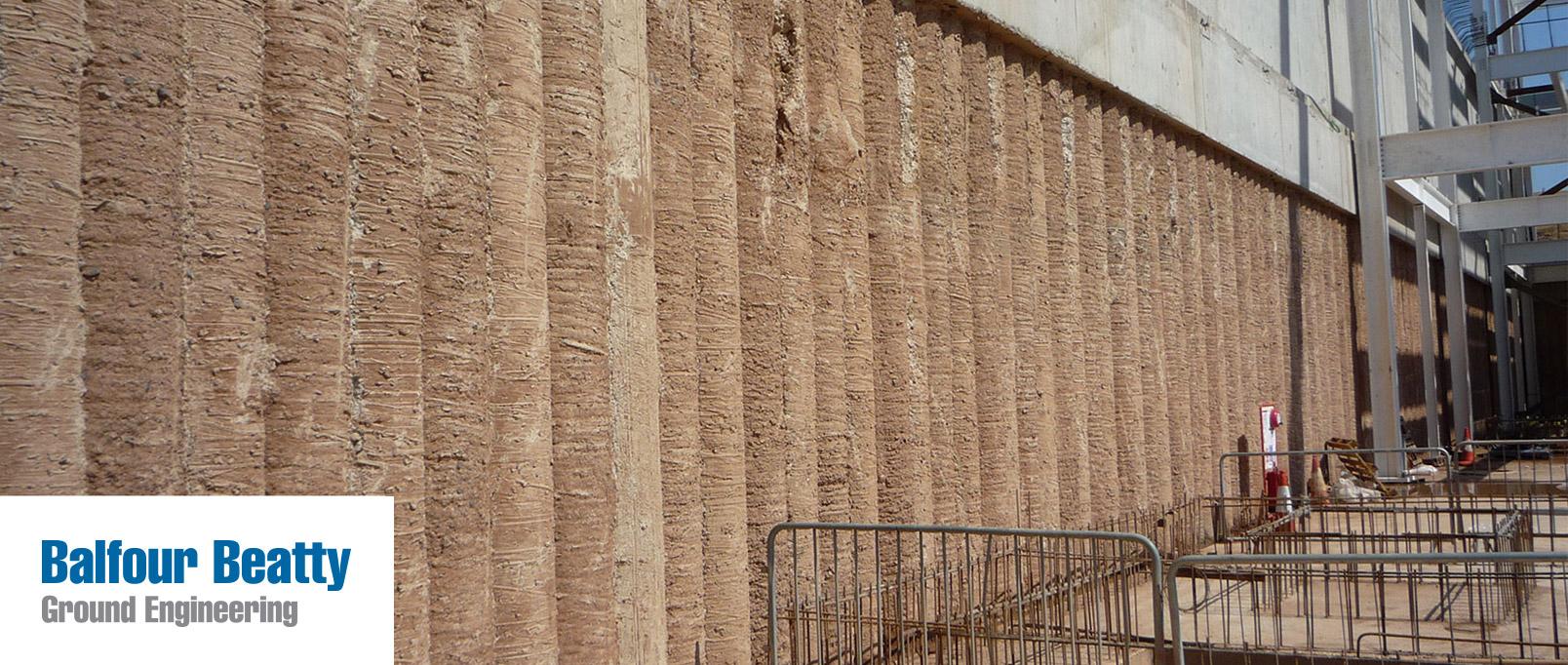 Retaining wallsGround engineeringExpertiseBalfour Beatty plc
