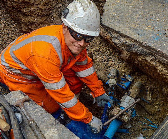 Thames Water engineer
