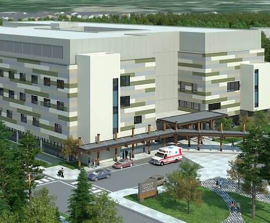 North Island Hospitals project