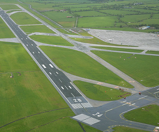 Dublin Airport Works Runway Rehabilitation